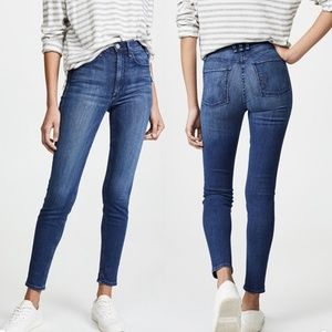 McGuire High Rise Newton Skinny Jeans Inseam 26
